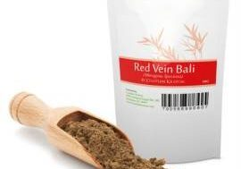 Red Vein Bali Kratom Powder Bag